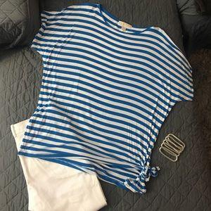 EUC Michael Kors dolman shirt w/ side knot